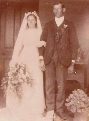 Bryan, Alexander & Dulcie Wedding Day 20 11 1913
