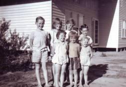 Bradley, family and Pamela