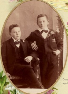 Bryan Brothers, from the photograph album in possession of Kevin and Bernice Smith