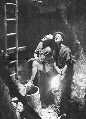Gordon Halbert and Harry Croker Kundip