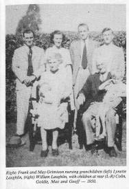 Grimison, Frank & May with family