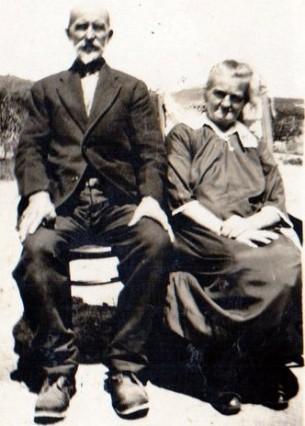 Grandma & Grandpa Halbert