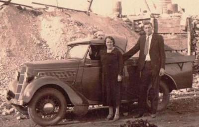 Halbert, Albert Miller and wife Christine Eliz. Bennett fr Lorraine. - Copy