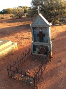Halbert, Joseph Cyril at Menzies Cemetery fr Toni large