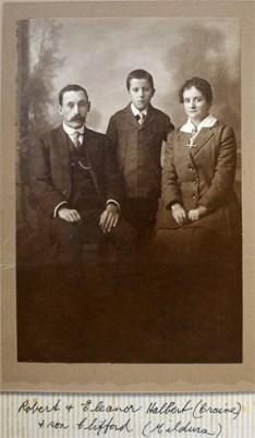 Halbert, Robert & Eleanor (Craine) & son R. Clifford
