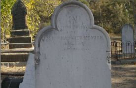 Keogh, John and Margaret Headstone