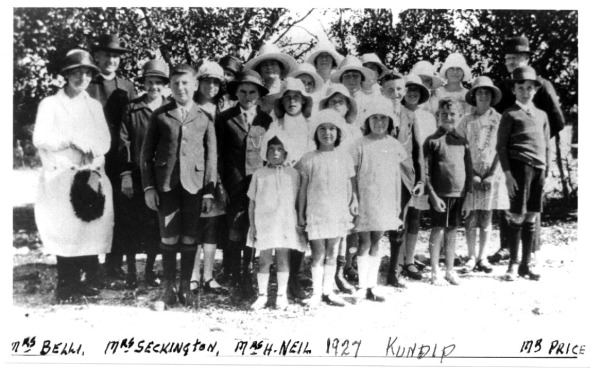 Kundip school group Fr Chenda 1927 Kundip