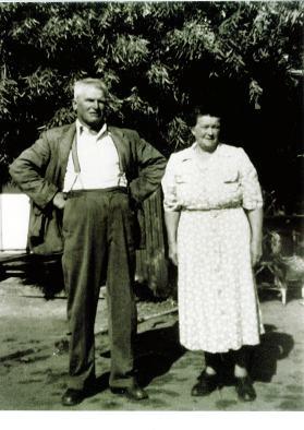 Perrin, Alfred James & Mary Henrietta Perrin - parents of Dulcie Shiela, Alfred Gordon, Marjorie Joan, Ma