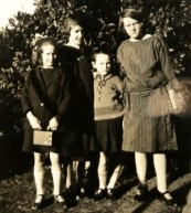 Perrin, G. E. with Hazel, Nancy & Sylvia