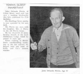 Perrin, John Orlando aged 97