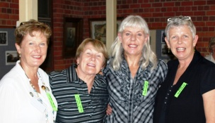 Pam, Bette, Christine and Wendylee