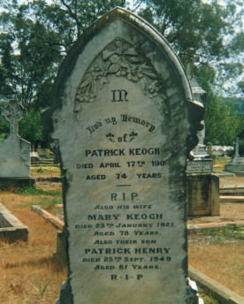 Keogh, Patrick, Mary & Pat. Hen. fr Kath