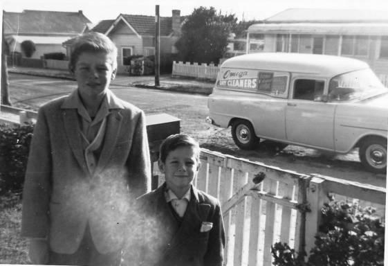 Bryant, Max & John (Keith's van) abt 1959.