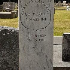 Grave of Charles Gammage Sen.